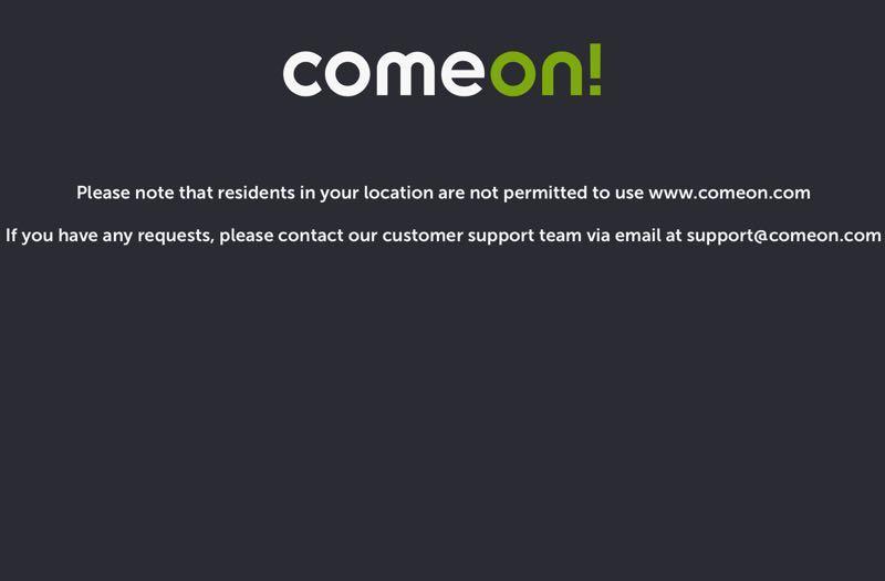 ComeOn Leaving the UK Market