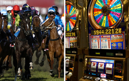 Horse Racing and Casino Slots