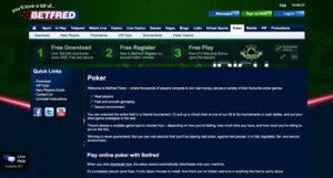 Betfred Poker Screenshot