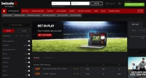Betsafe Sports Betting Screenshot