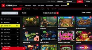 Jetbull Casino Screenshot