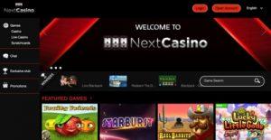 Next Casino Screenshot