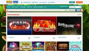 Spin and Win Casino Screenshot