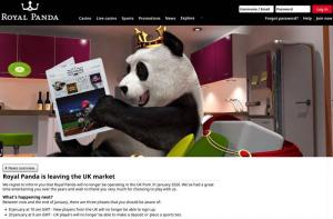 Royal Panda leaving the UK Market
