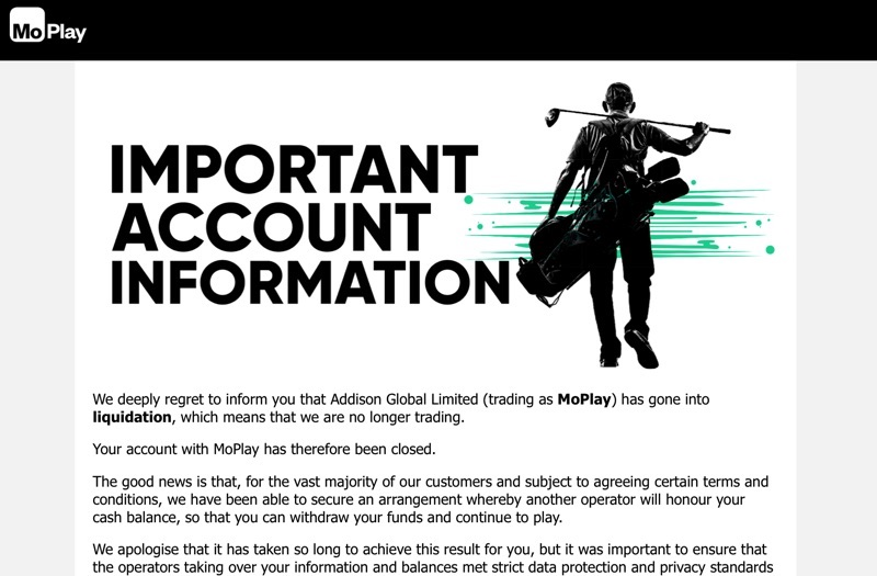 Moplay insolvency screenshot