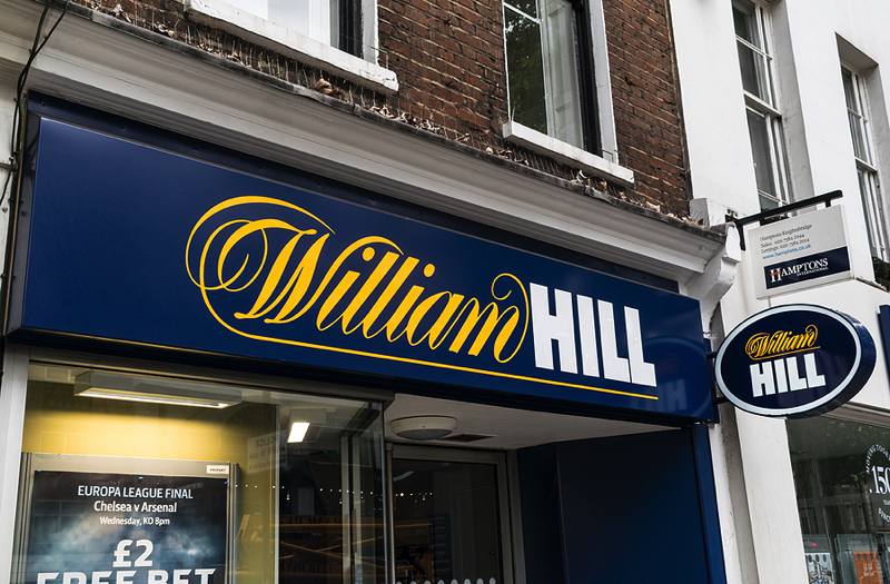 William Hill storefront