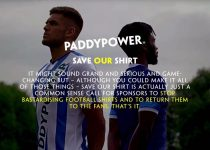 Paddypower Save Our Shirt Campaign