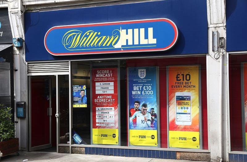 William Hill high street shop